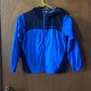 Little boys Columbia rain jacket/wind breaker 6